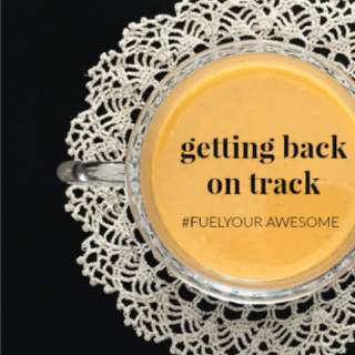 GETTING BACK ON TRACK: A SURPRISING SECRET TO HELP YOU SUCCEED #FUELYOURAWESOME