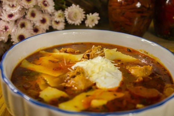 one pot lasagna soup recipe