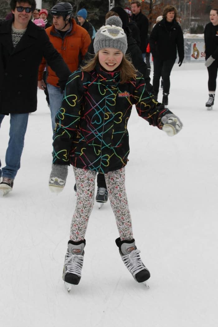 skating at rink of dreams ottawa