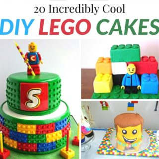 20 INCREDIBLY COOL DIY LEGO CAKES