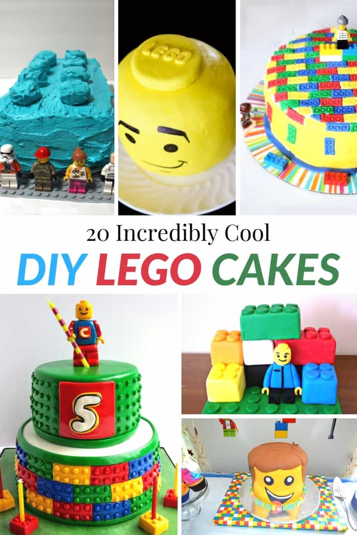20 Incredibly Cool Diy Lego Cakes Mommy Moment
