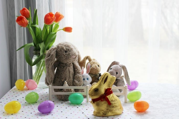 Easter Family Tradition Lindt Gold Bunny