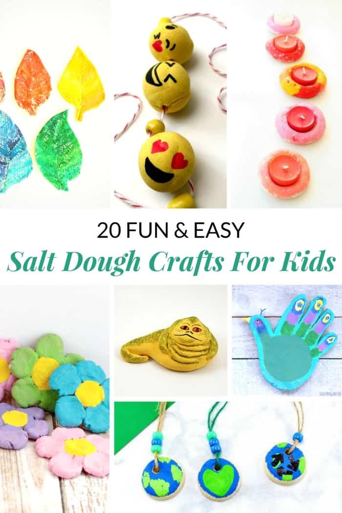 Salt dough crafts for kids
