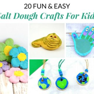 20 EASY SALT DOUGH CRAFTS FOR KIDS