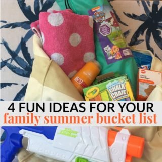 4 FUN IDEAS FOR YOUR FAMILY SUMMER BUCKET LIST