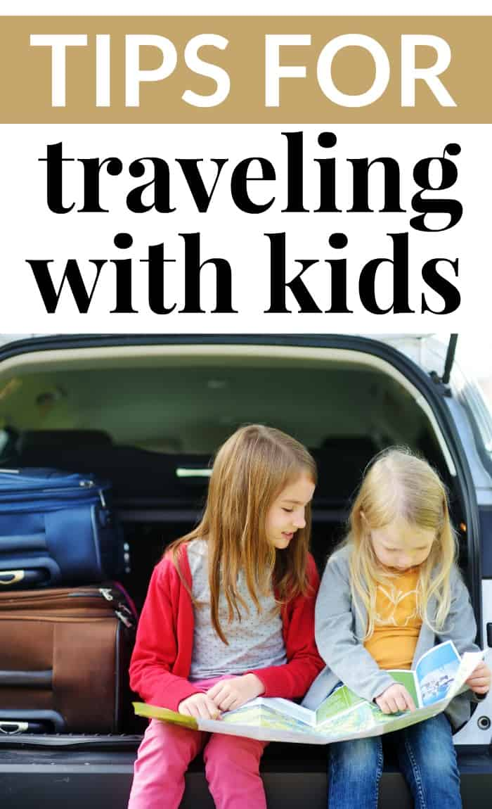 Tips for traveling wtih kids