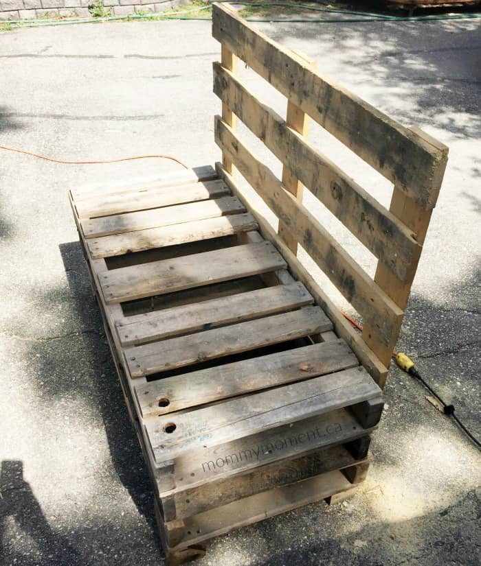 seating pallet project