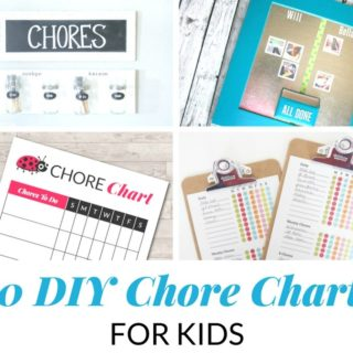 20 DIY CHORE CHARTS FOR KIDS