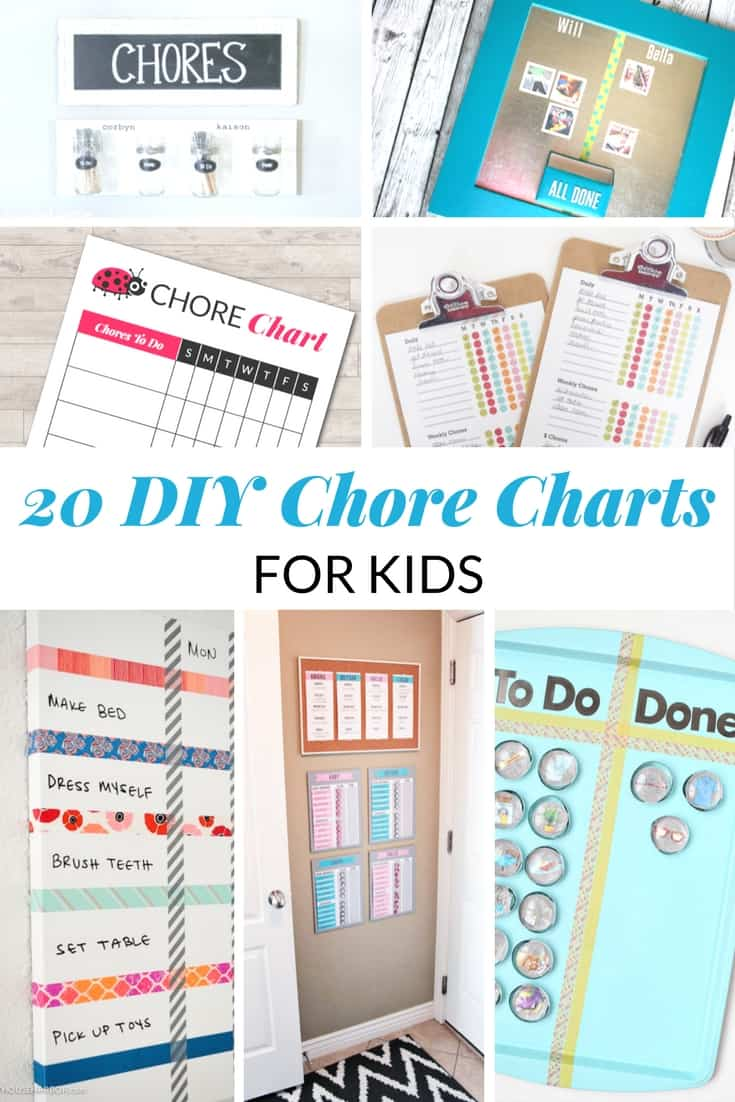 DIY Chore Charts for Kids