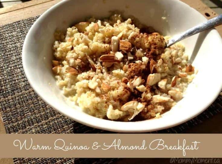 Warm Quinoa & Almond Breakfast