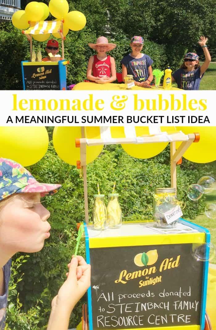 Meaningful summer bucket list idea