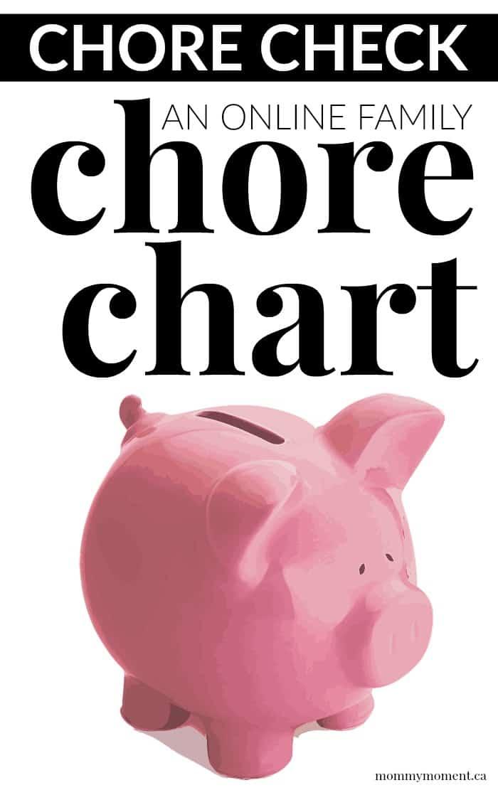Online Family Chore Chart