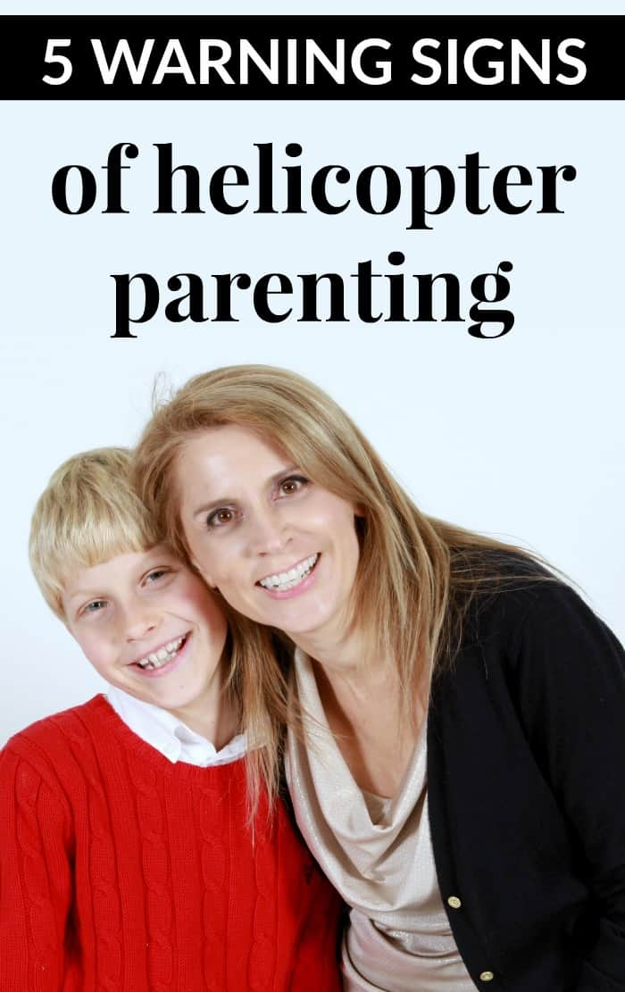 warning signs of helicopter parenting