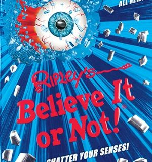 RIPLEY'S BELIEVE IT OR NOT! SHATTER YOUR SENSES #31DAYSOFGIFTS