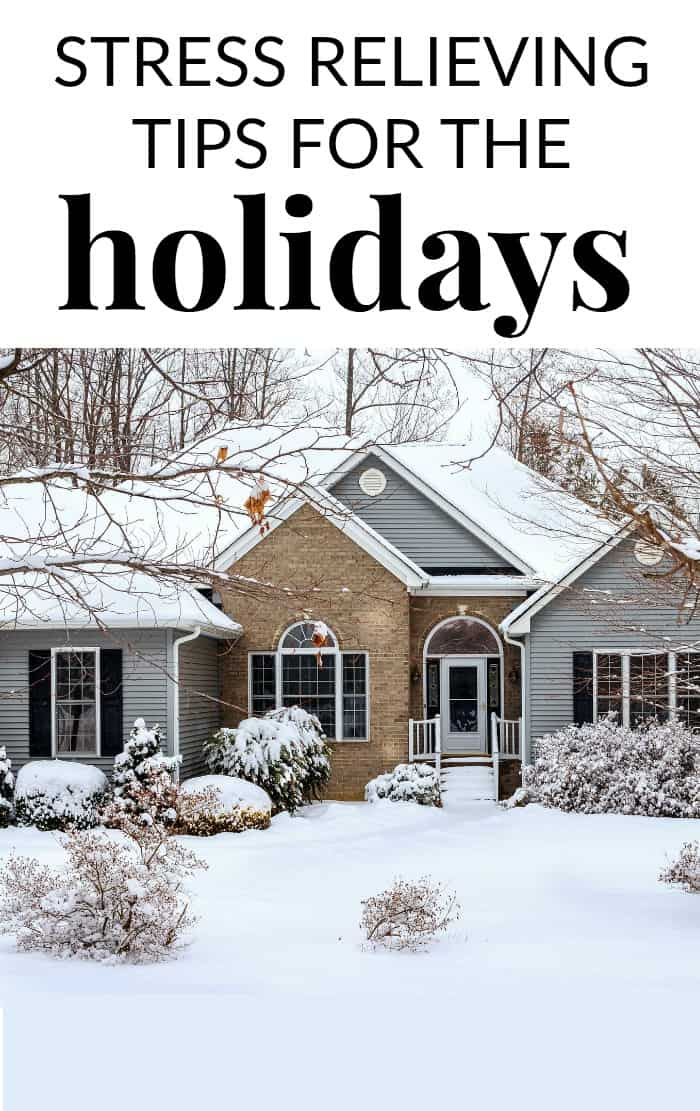 STRESS RELIEVING TIPS FOR THE HOLIDAYS
