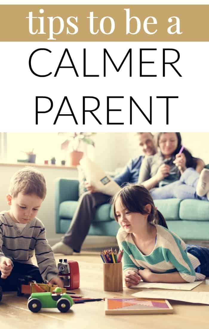 tips to be a calmer parent
