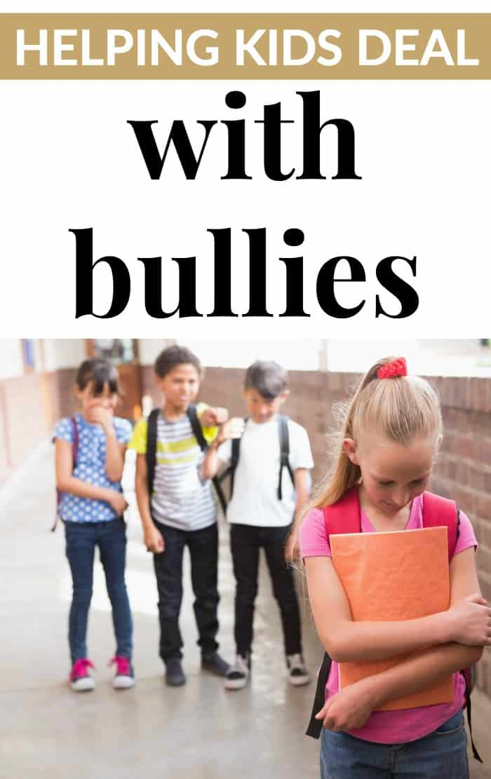 helping kids deal with bullies