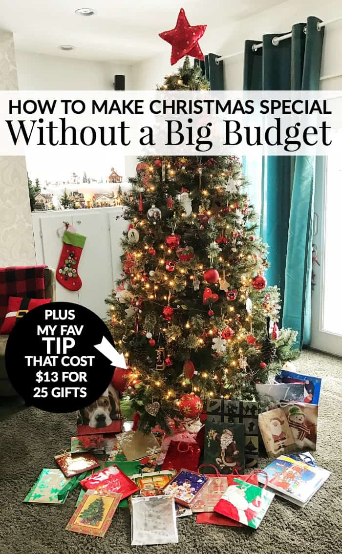 how to make christmas special without a big budget