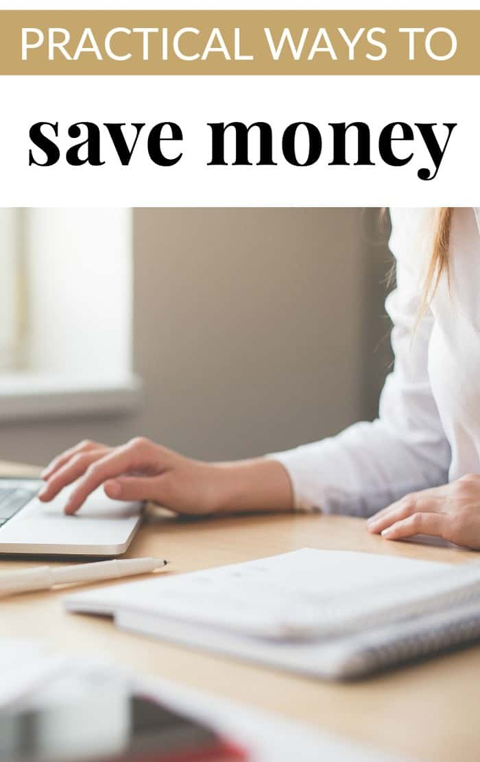 practical ways to save money