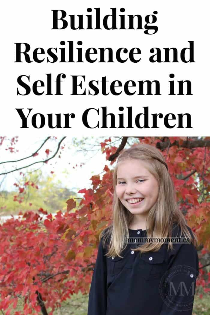building self esteem in kids