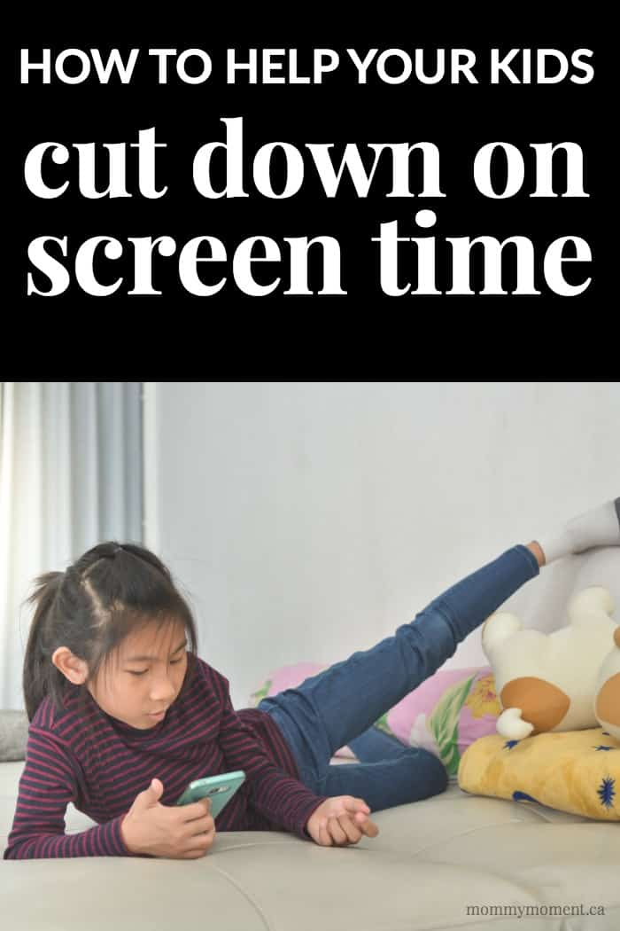 How to Help Your Kids Cut Down on Screen Time