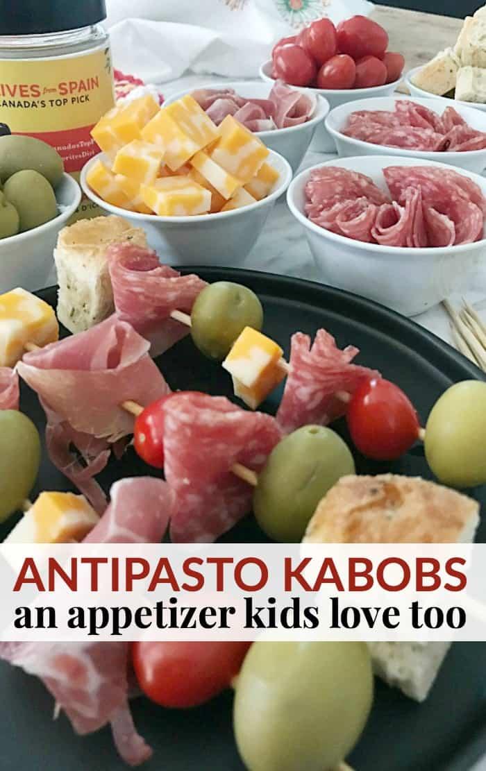 antipasto kabobs appetizer