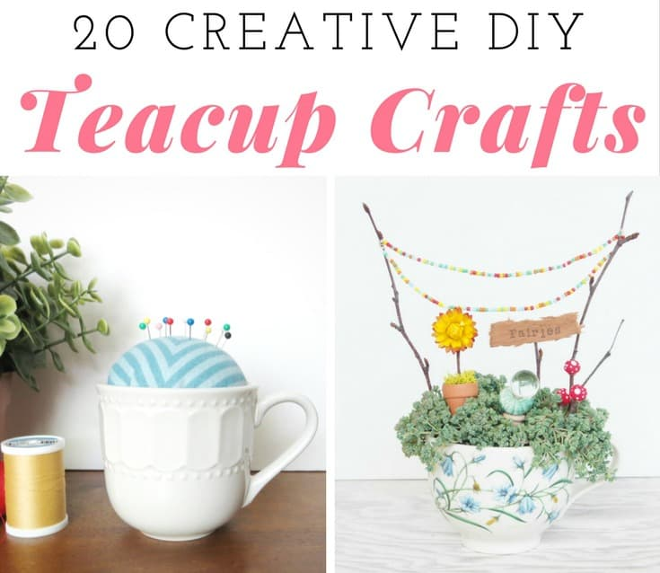 Teacup crafts