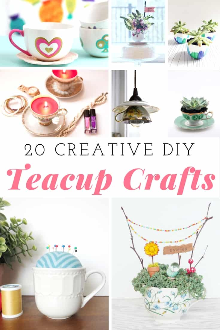 creative diy teacup crafts mommy moment