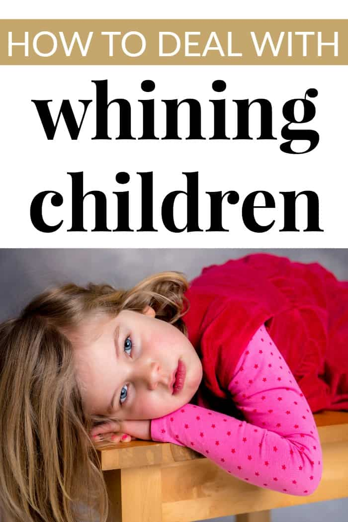 Whining Children