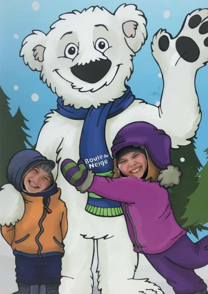 Fête des neiges family fun