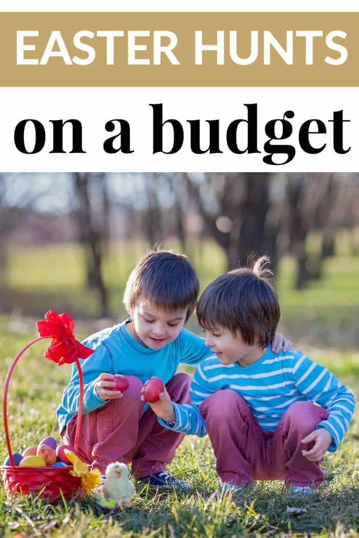 easter hunts on a budget