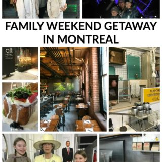 LONG WEEKEND FAMILY GETAWAY IN MONTREAL