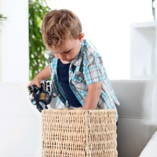 HOW TO TEACH KIDS TO CLEAN UP AFTER THEMSELVES
