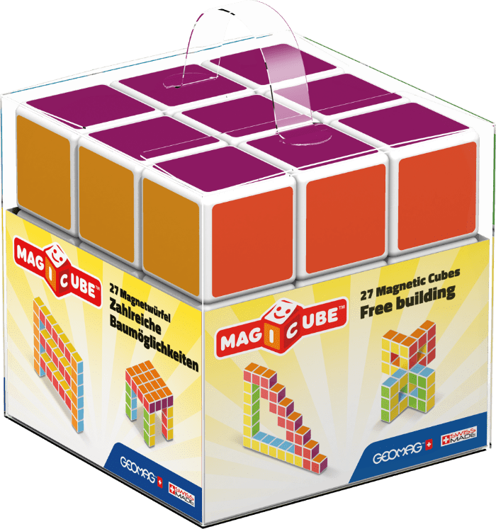 Magicube magnetic STEM learning toy