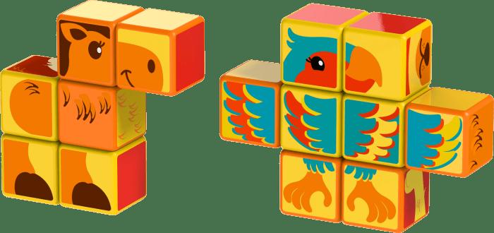 Magicube Geomag - SAFARI ANIMALS