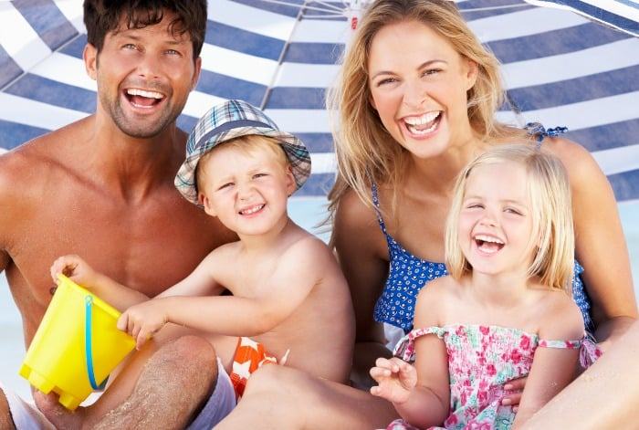 Check out these must have items for a family beach day