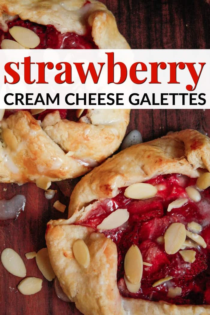 Strawberry Cream Cheese Galettes recipe