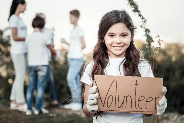 The benefits of volunteering for teens