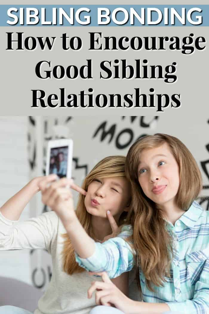 Sibling Bonding - How to Encourage Good Sibling Relationships