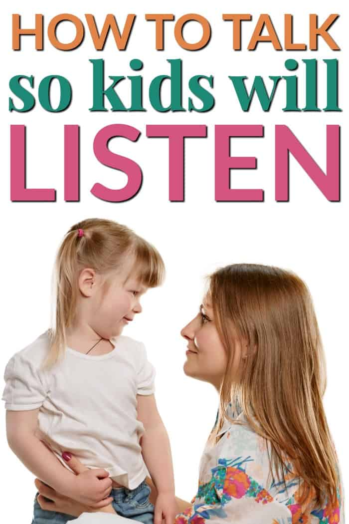 We need to learn how to talk so kids will listen