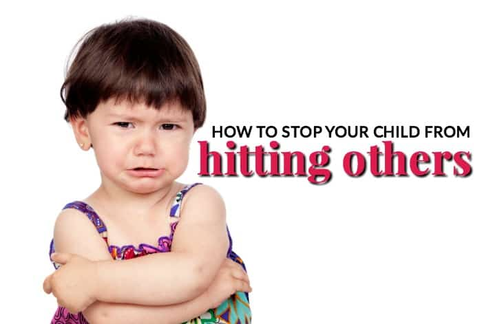 how to stop your child from hitting