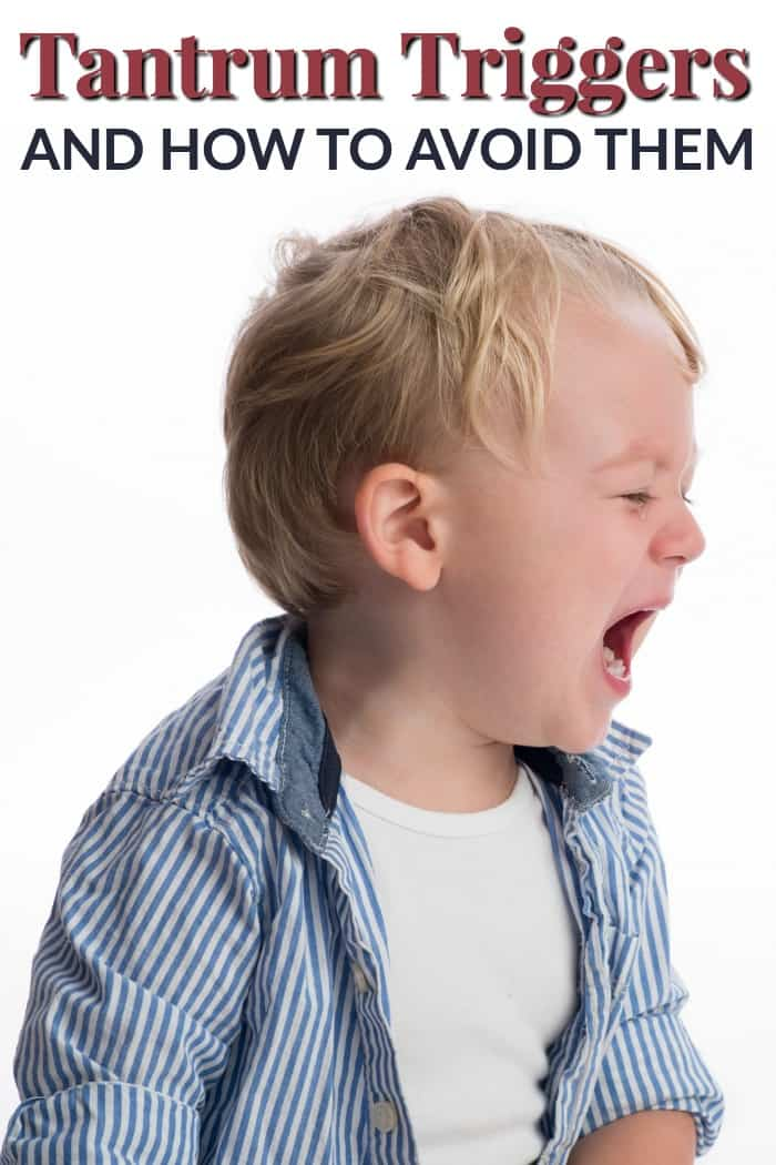 How to avoid a temper tantrum