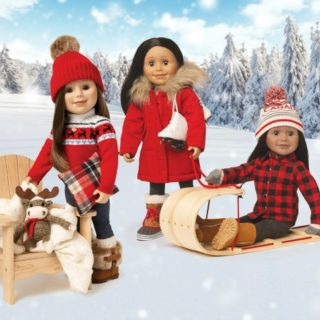 MAPLELEA GIRL DOLL #31DAYSOFGIFTS