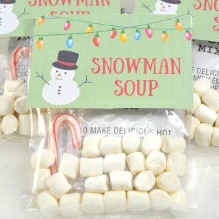SNOWMAN SOUP HOT COCOA TREAT BAGS