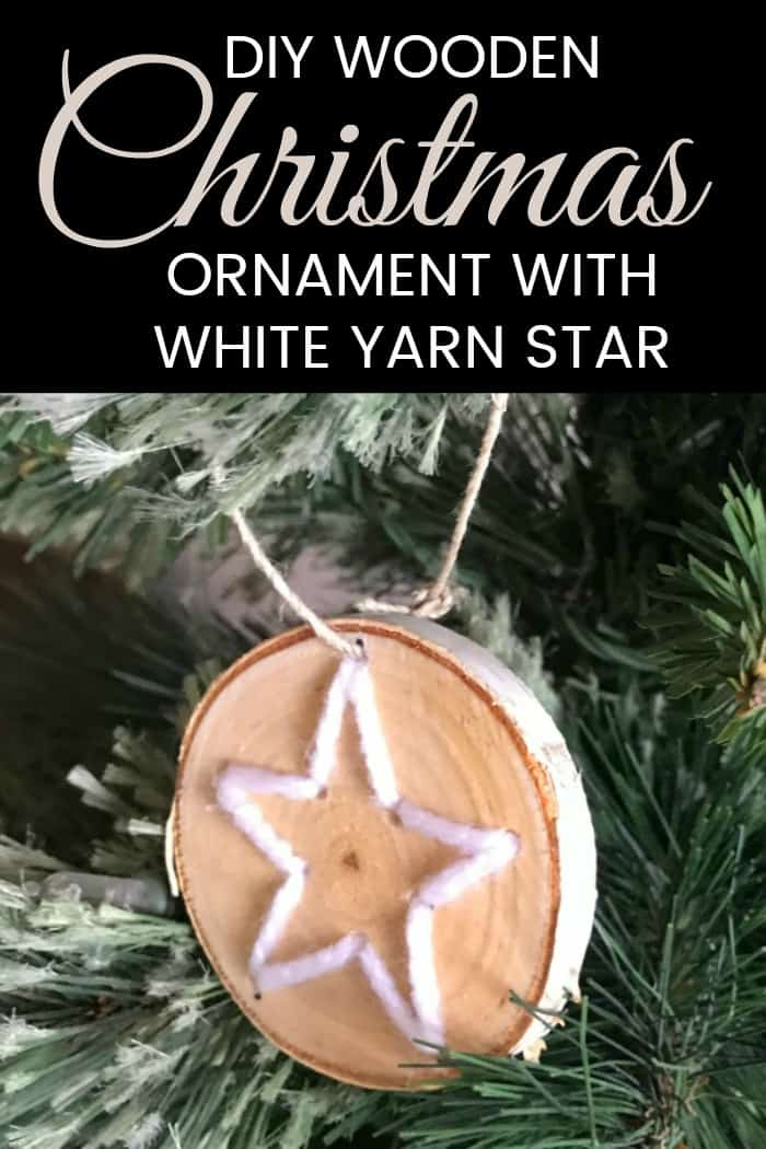 Diy Wooden Christmas Ornaments Mommy Moment