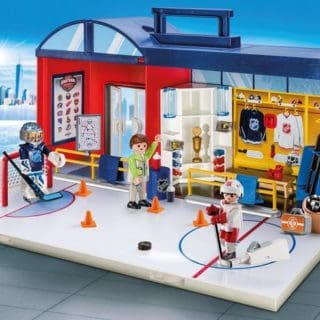PLAYMOBIL NHL TAKE ALONG ARENA #31DAYSOFGIFTS