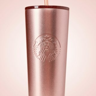 STARBUCKS ROSE GOLD CUP #31DAYSOFGIFTS