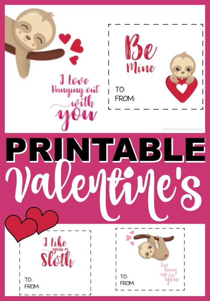 graphic regarding Printable Valentine Cards for Classmates referred to as PRINTABLE VALENTINES Working day Playing cards Mommy Second