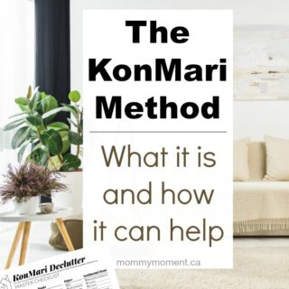 THE KONMARI METHOD – WHAT IT IS AND HOW IT CAN HELP