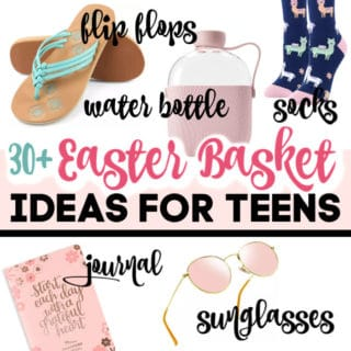 EASTER BASKET IDEAS FOR TEENS